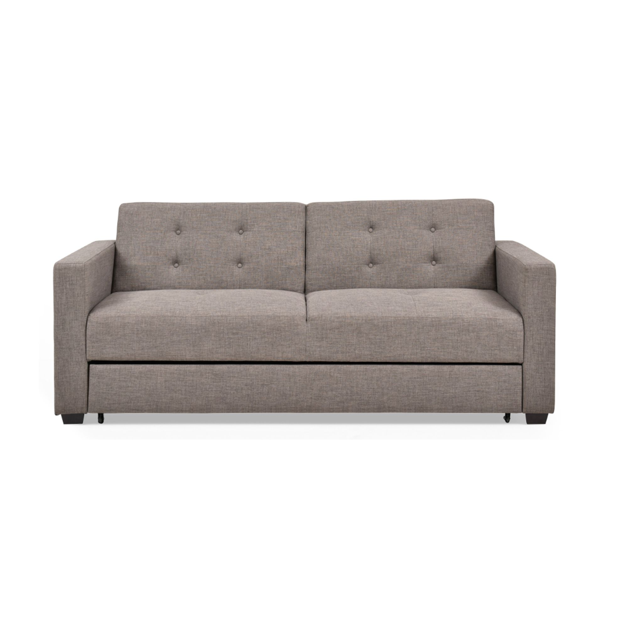 Alannah Small Double Sofa Bed With Storage Drawer Grey