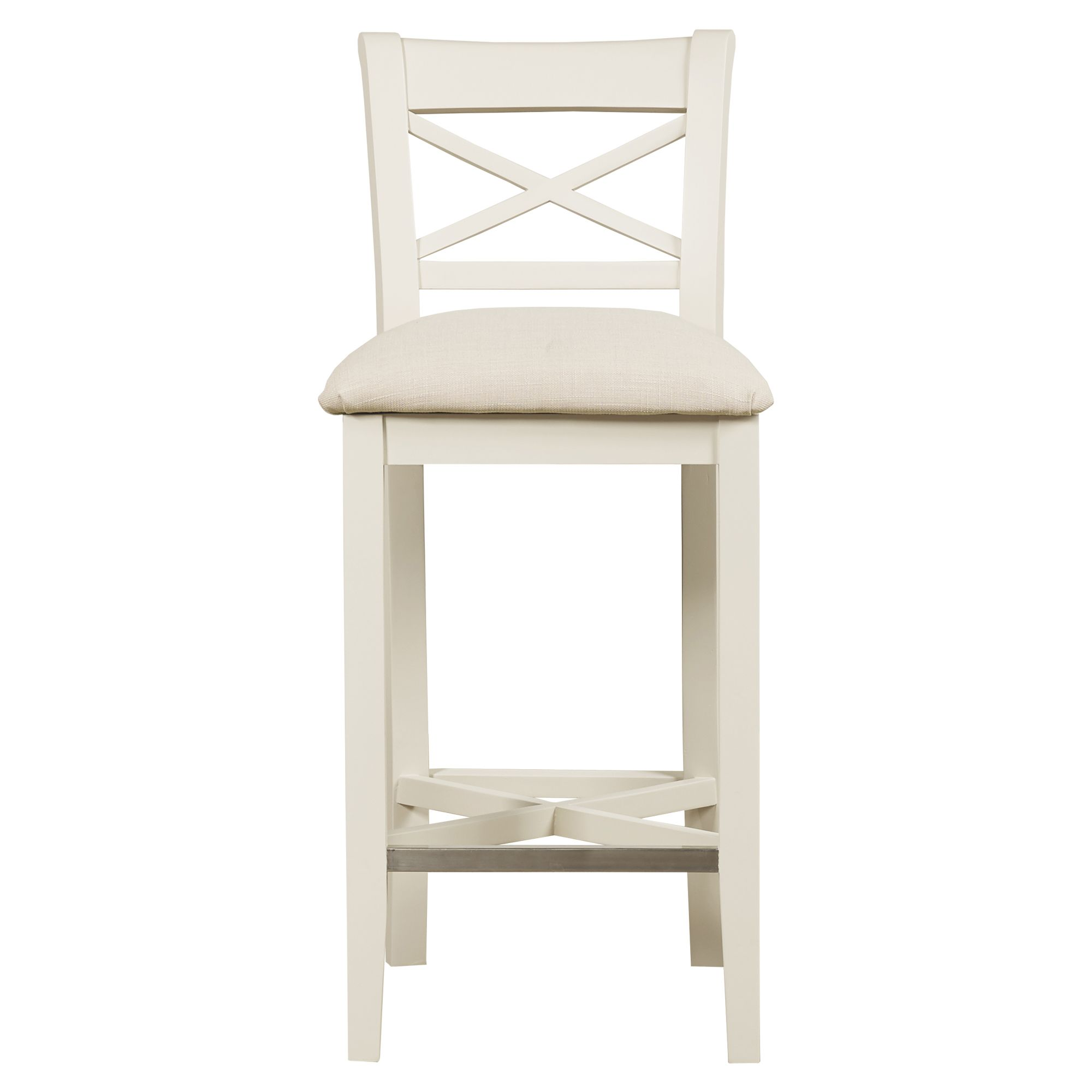 Swan painted bar stool c w fabric seat all dining for Meubles kilkenny