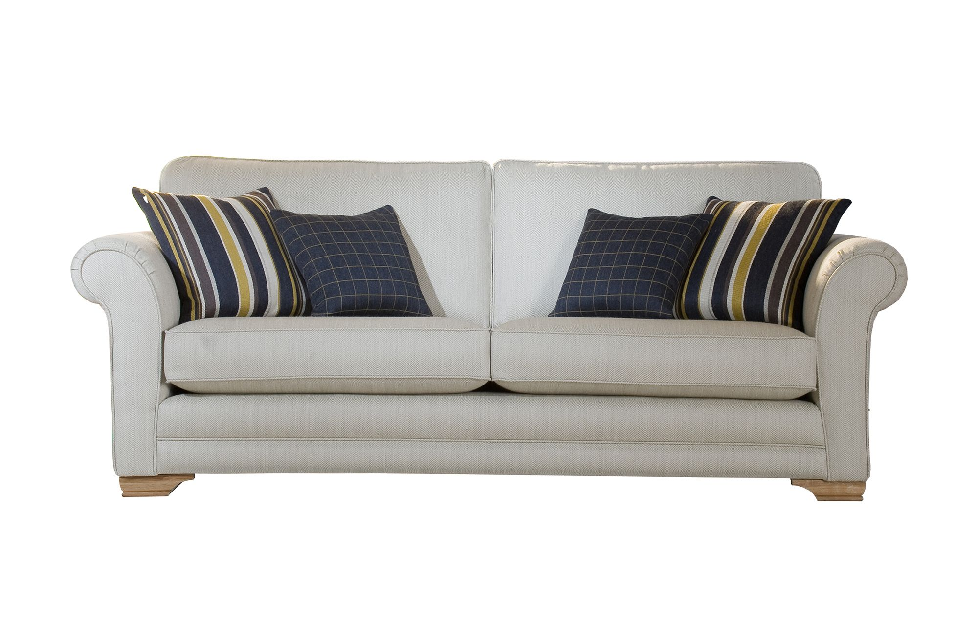 Vermont 3 Seater Sofa Fabric E All Sofa Collections