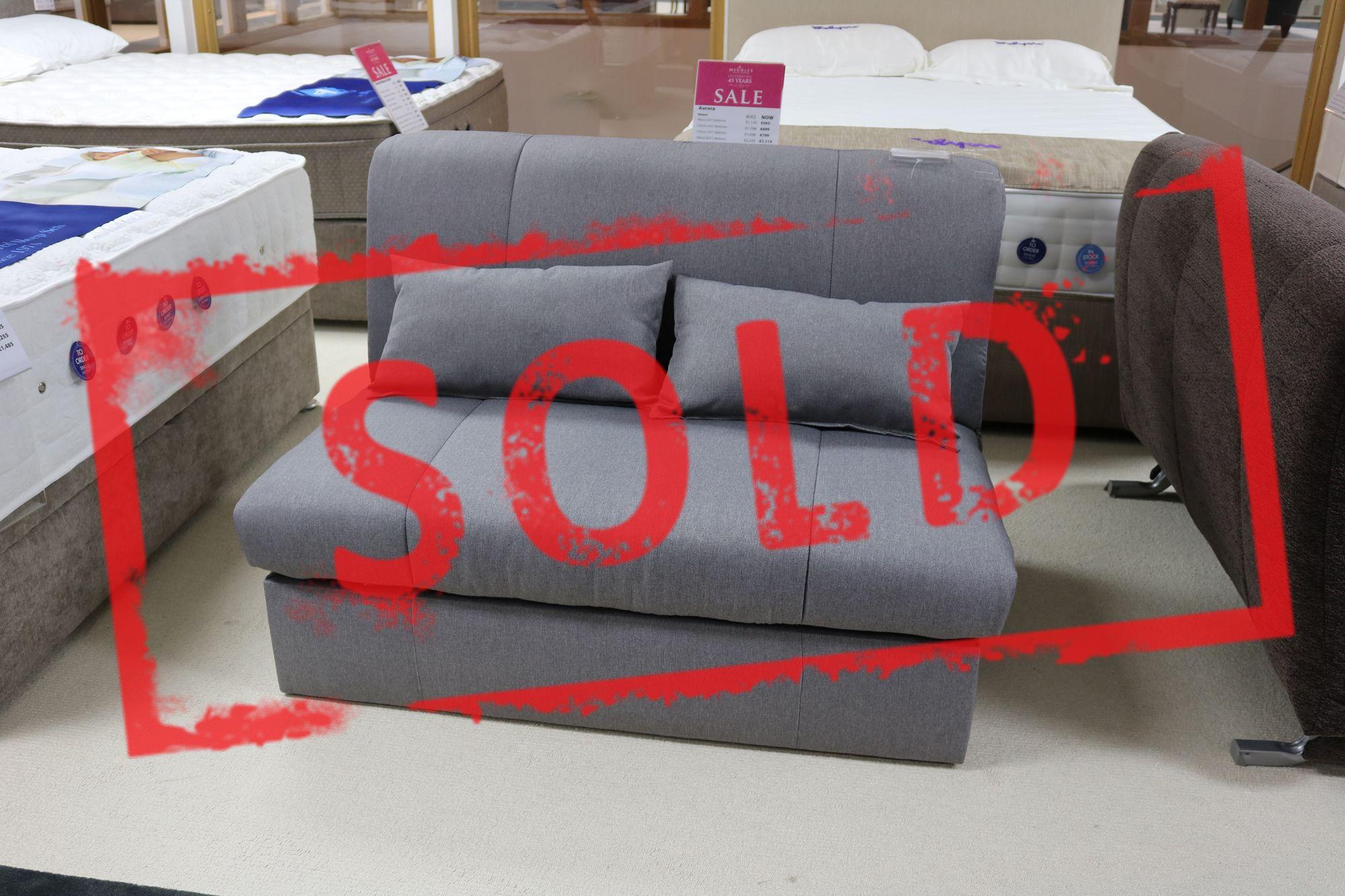 Kyoto redford 120cm sofa bed 4 39 0 bedsteads for Meuble japonais futon