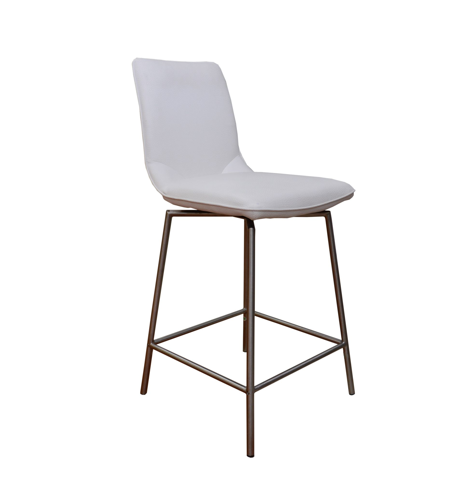 davy tatra swivel bar stool faux leather white bar stools meubles. Black Bedroom Furniture Sets. Home Design Ideas