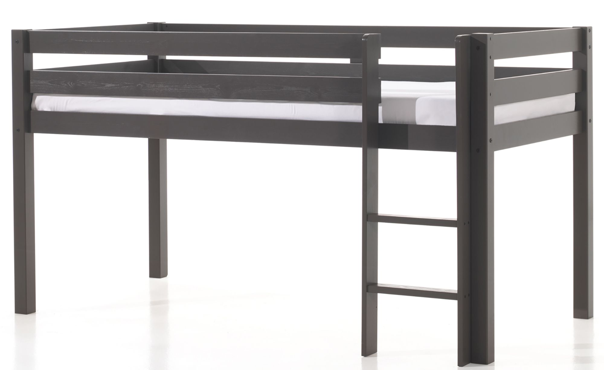 vipack pino mid sleeper bed taupe meubles. Black Bedroom Furniture Sets. Home Design Ideas