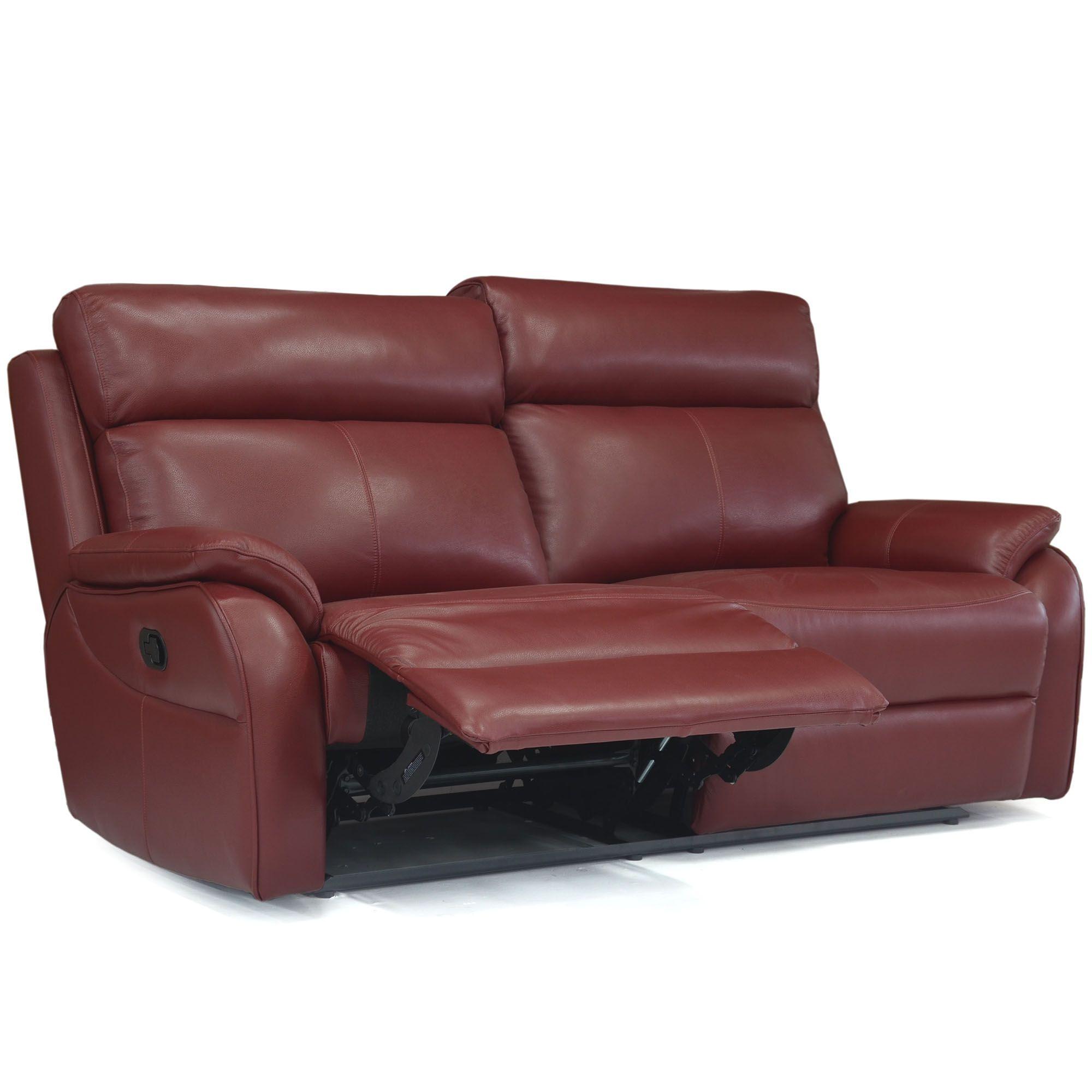 La Z boy Kendra Electric Reclining 3 Seater Sofa With USB Mezzo Leather