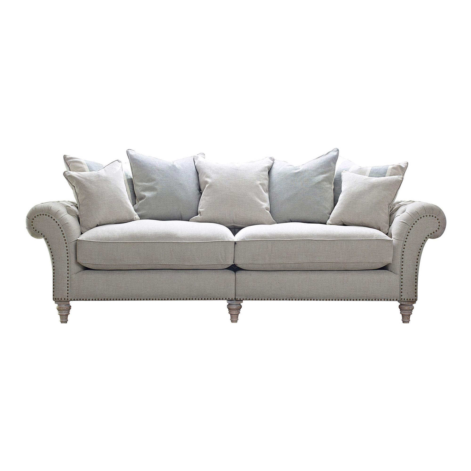 Westbridge Cabana 4 Seater Scatter Back Sofa Fabric B All Sofa  # Meubles Cafe Kilkenny