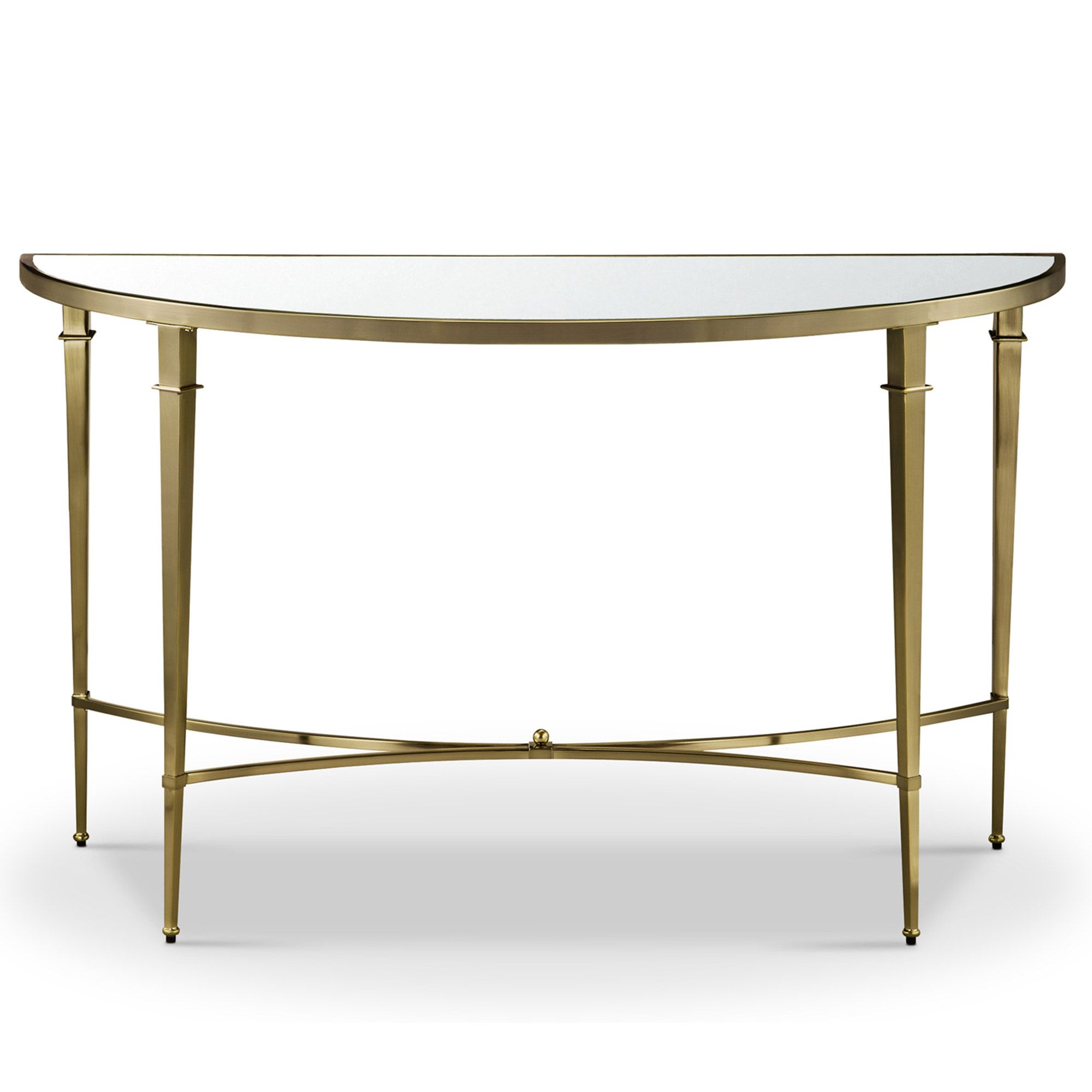 Mindy Brownes Waverly Console Table Gold Console Hall Tables Meubles
