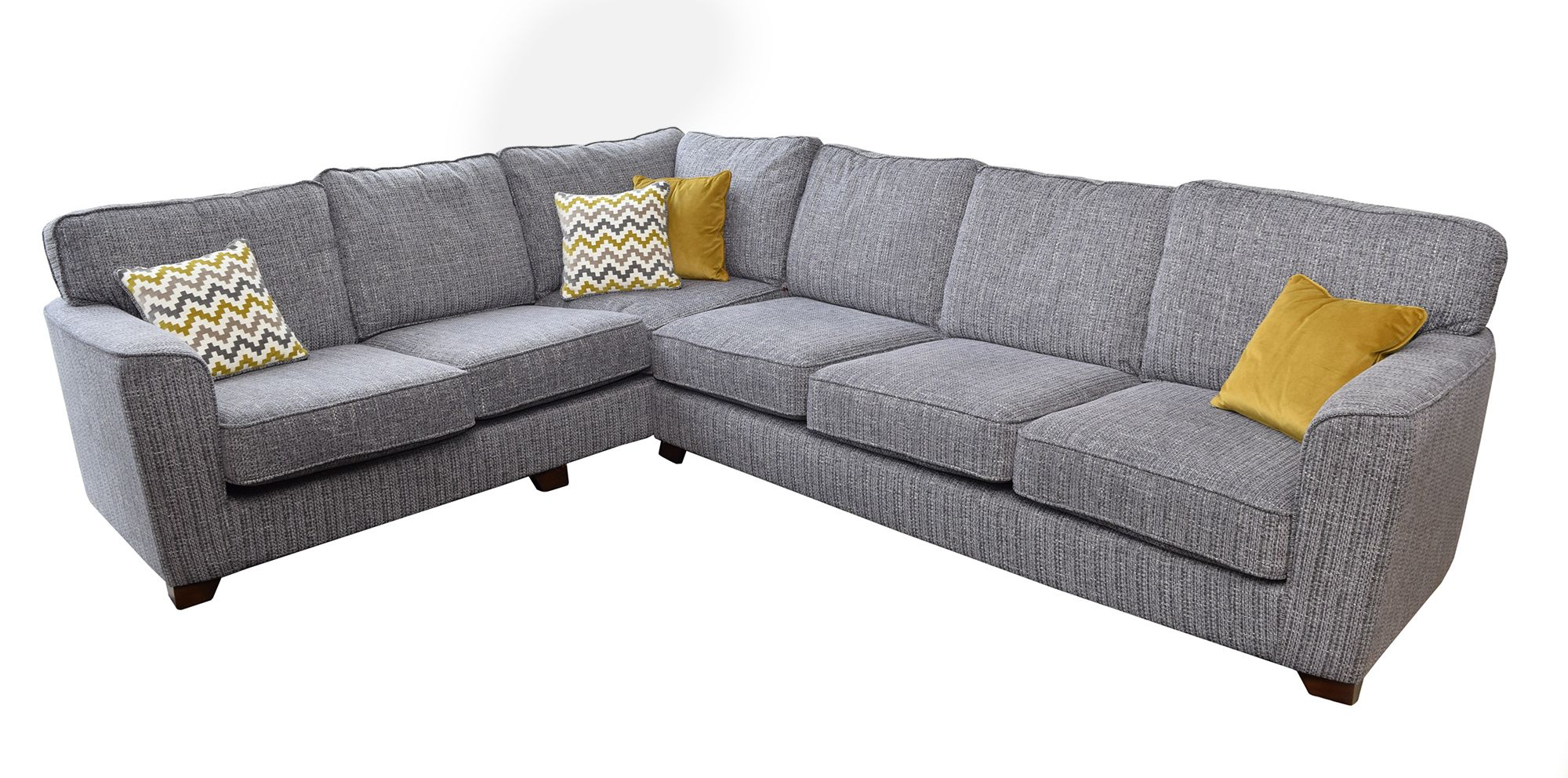 promo code 48fdc 4d63a Bali 4 Seater + 2 Seater Corner Sofa LHF Fabric B