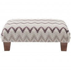 Solna Feature Footstool Fabric Hem