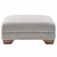 Solna Accent Footstool Fabric Hem