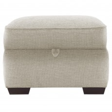 Solna Storage Footstool Fabric Hem