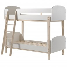 Vipack Kiddy Bunk Bed White