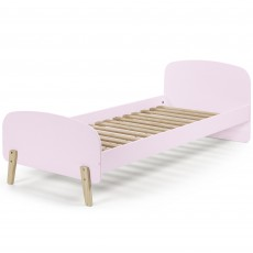Vipack Kiddy Single (90cm) Bedstead Old Pink