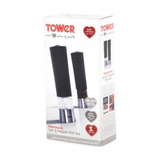 Towel Electric Salt & Pepper Mill