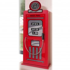 Vipack Monza Gas Pump 1 Door Wardrobe Red