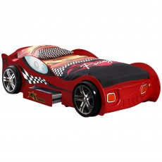 Vipack Turbo Racing Single (90cm) Car Bed Red