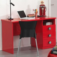 Vipack Monza Study Desk Red