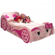 Vipack Love Single (90cm) Car Bed Pink