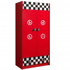 Vipack Monza 2 Door Wardrobe Red