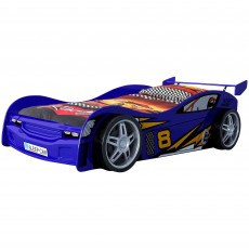 Vipack Night Racer Single (90cm) Car Bed Blue