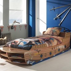 Vipack Pirate Single (90cm) Boat Bed