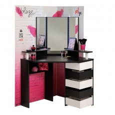 Parisot Volage Hair & Makeup Beauty Bar Black & White