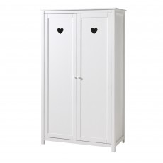 Vipack Amori 2 Door Wardrobe White