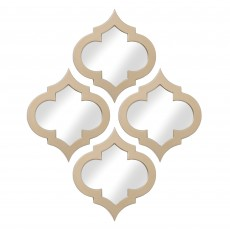 Mindy Brownes Clodagh Mirror Gold (Set of 4)