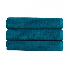 Christy Brixton Hand Towel Peacock Blue