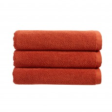 Christy Brixton Hand Towel Burnt Orange
