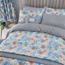 Helena Springfield Patsy Super King Duvet Cover Blue