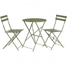 Royalcraft Padstow 2 Seater Folding Bistro Set Sage