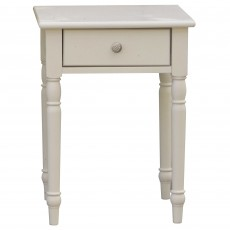 Stefania Painted 1 Drawer Bedside Locker