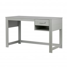 WOOOD Dennis Junior Desk Pine Concrete Grey