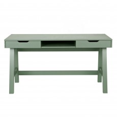 WOOOD Nikki Study Desk Green
