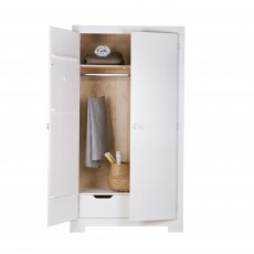 WOOOD Nikki 2 Door Wardrobe White