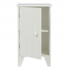 WOOOD Nikki Bedside Locker White