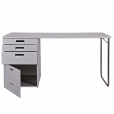 WOOOD Store Desk Grey