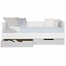 WOOOD Jade Underbed Storage Drawer White