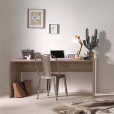 Vipack Emiel Study Desk Oak & Marakesch Brown