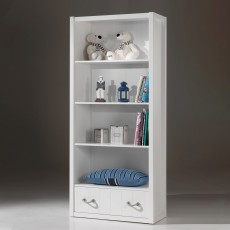 Vipack Lewis Bookcase White