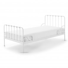 Vipack Alice Single (90cm) Bedstead White