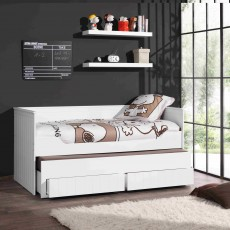 Vipack Robin Single (90cm) Day Bed White