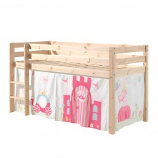 Vipack Pino Bed Curtain Little Princess Castle
