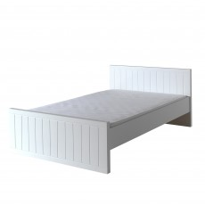 Vipack Robin Small Double (120cm) Bedstead White