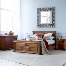 Belle Super King (180cm) Bedstead Birch