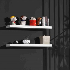 Vipack Robin 2 Wall Shelves White