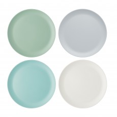 Kitchencraft Melamine Dinner Plates Set Of 4