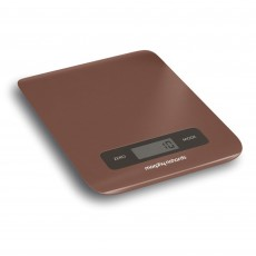 Morphy Richards Accents Digital Kitchen Scales Copper