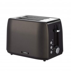 Tower Urbano 2 Slice Black Toaster