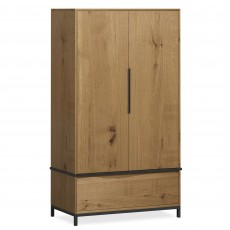 Billie 2 Door Wardrobe Oak
