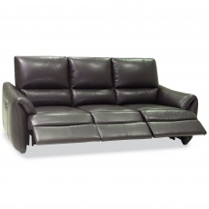 Specola 4 Seater Electric Reclining Sofa Leather Category 20